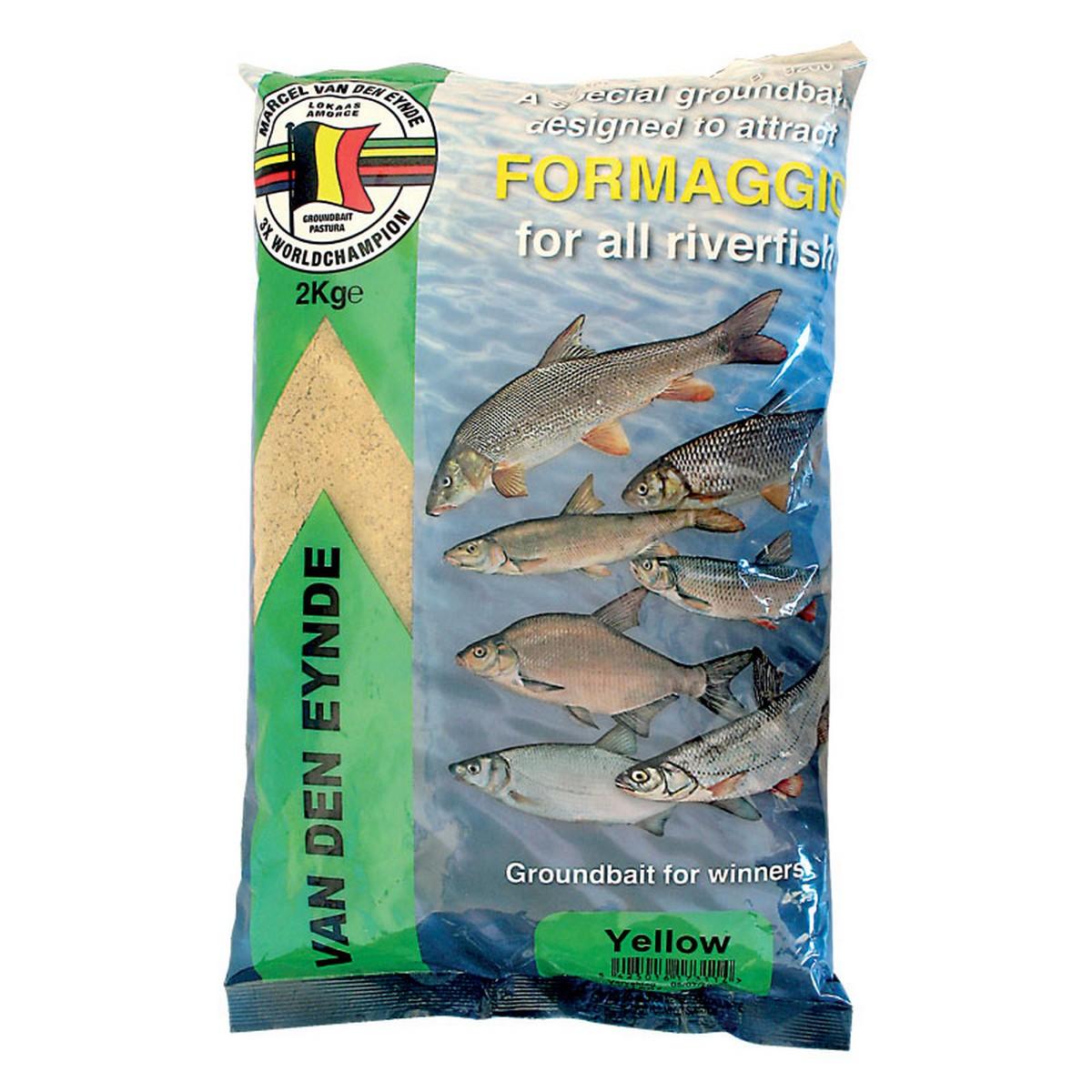 Захранка за риболов FORMAGIO YELLOW 2 кг - VAN DEN EYNDE