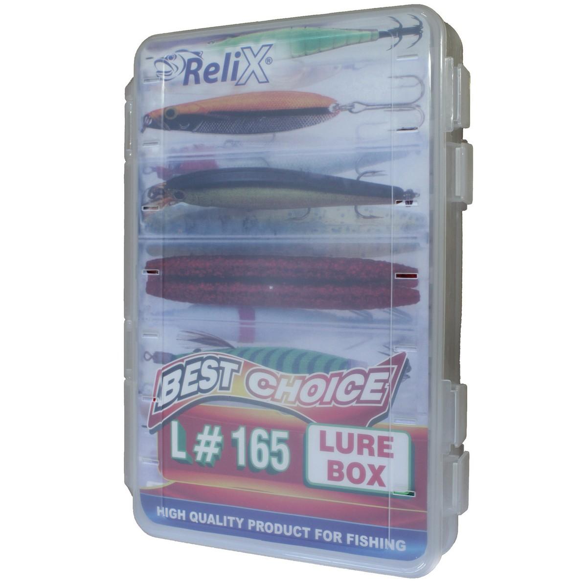 Кутия за изкуствени примамки RELIX L165 - двустранна