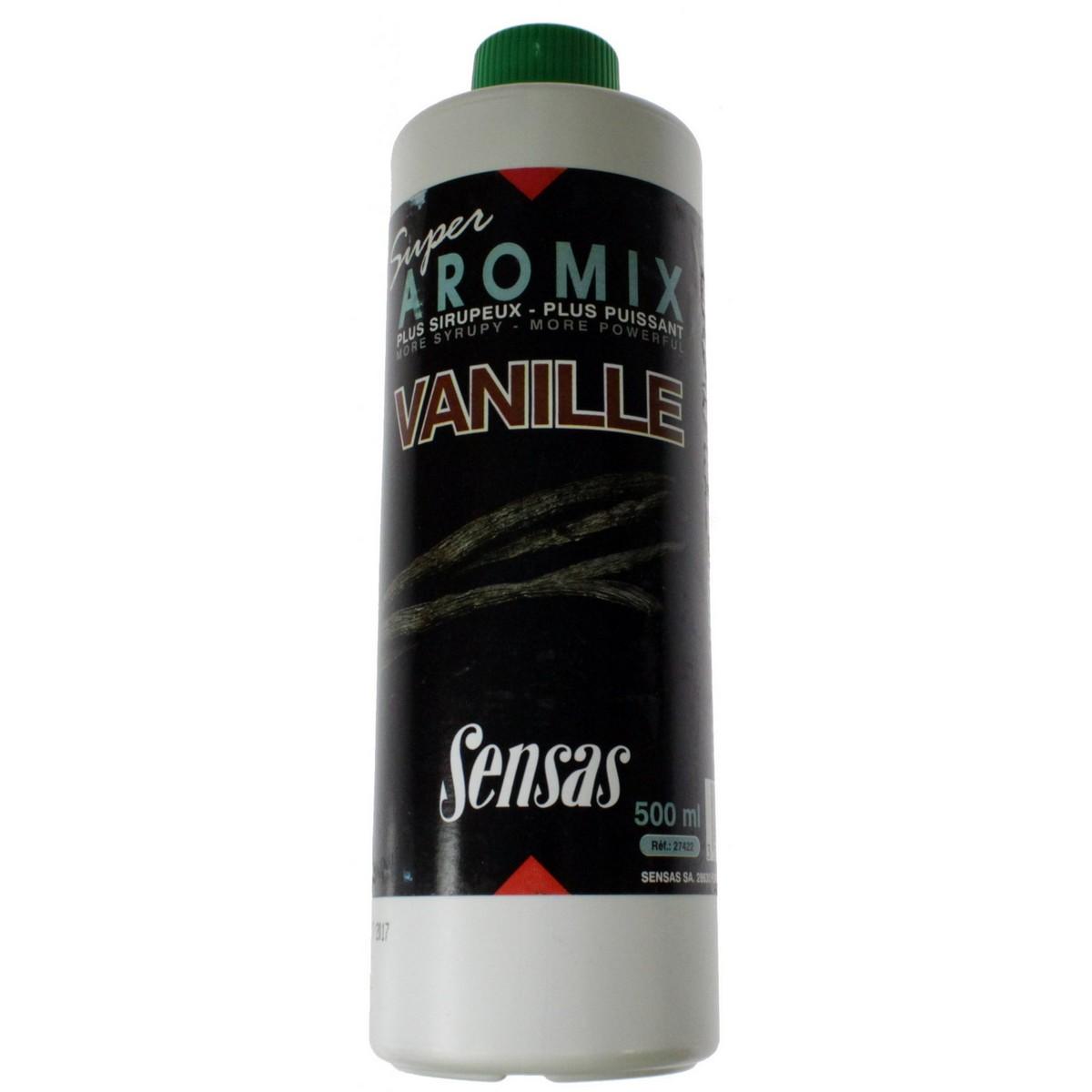 Течен ароматизатор Sensas Super Aromix - Vanilla