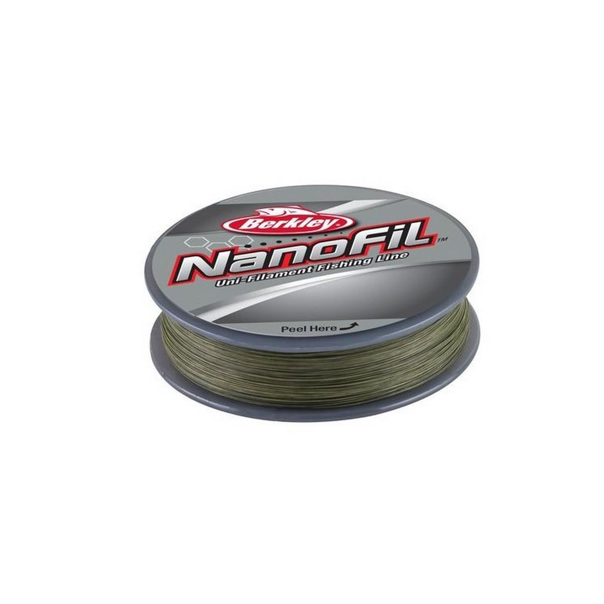 Риболовно влакно Berkley NanoFil Lo-Vis Green 125м