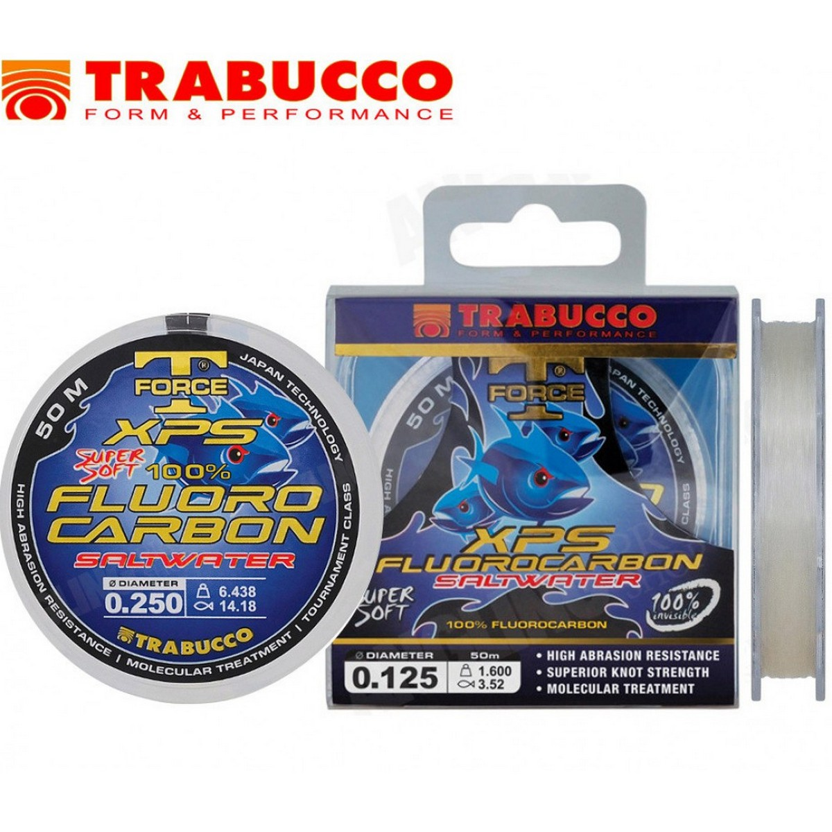 Флуорокарбон Trabucco XPS Fluorocarbon Saltwater 50m