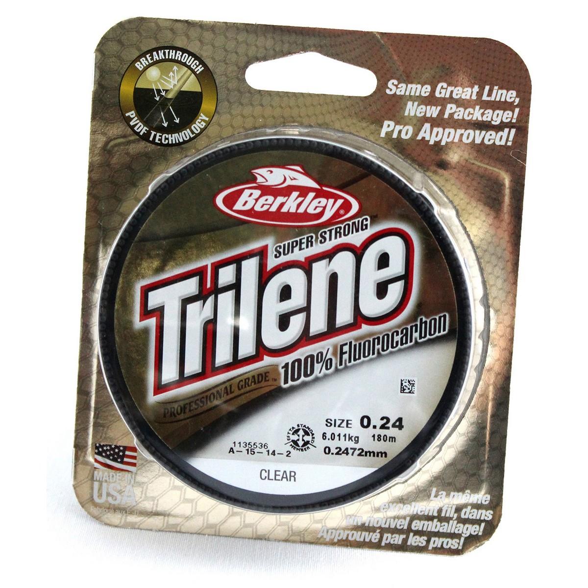 Berkley Trilene Fluorocarbon 180m-0