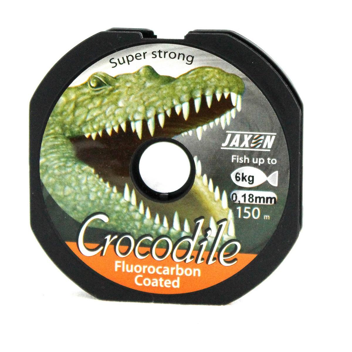 Jaxon Crocodile Fluorocarbon Coated 150m-0