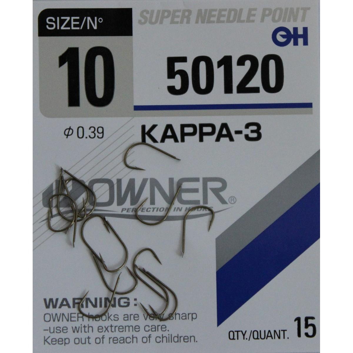 Риболовна кука Owner Kappa-3 50120