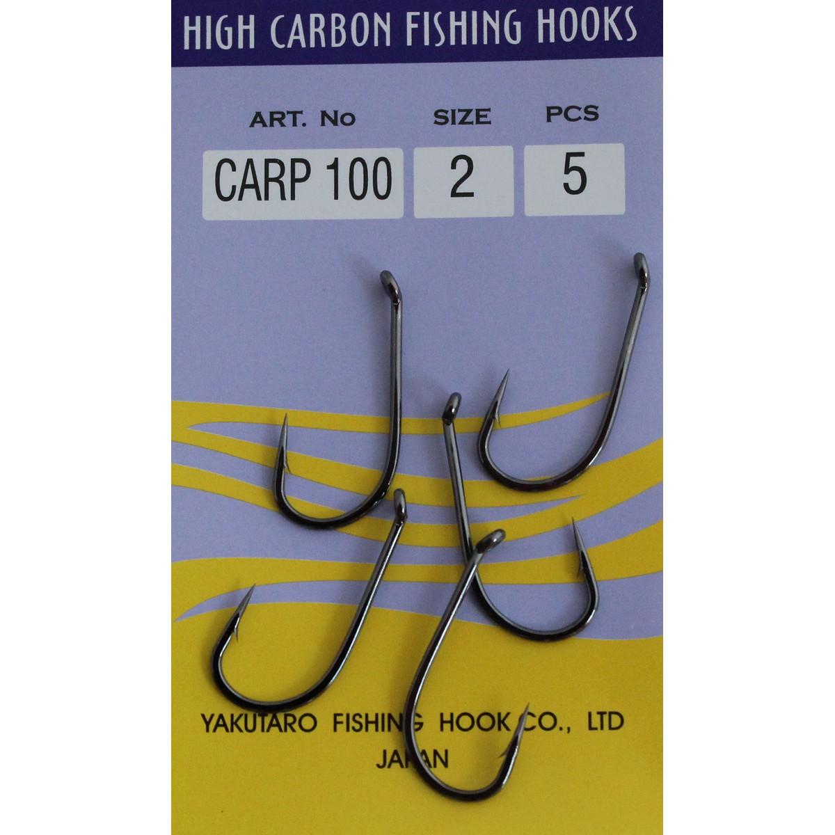 Риболовна кука Adroita Carp 100
