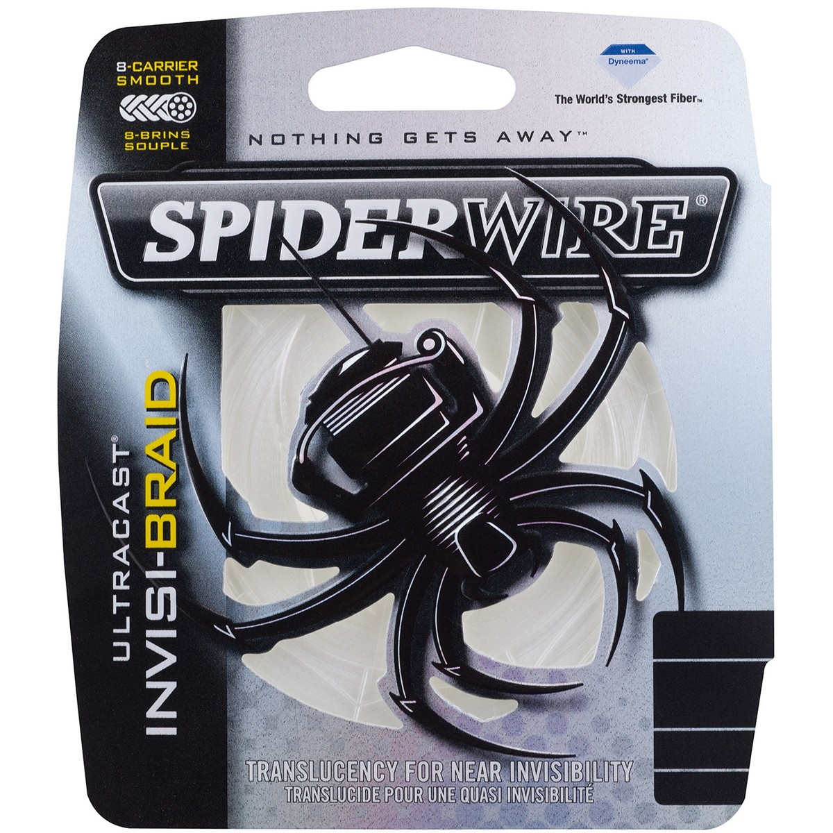 SpiderWire Ultracast Invisi-Braid 8-carrier 110m-0