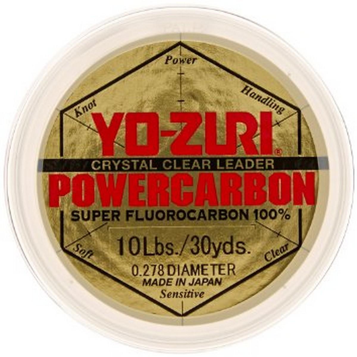 Yo-Zuri Powercarbon Fluorocarbon 30yds-0