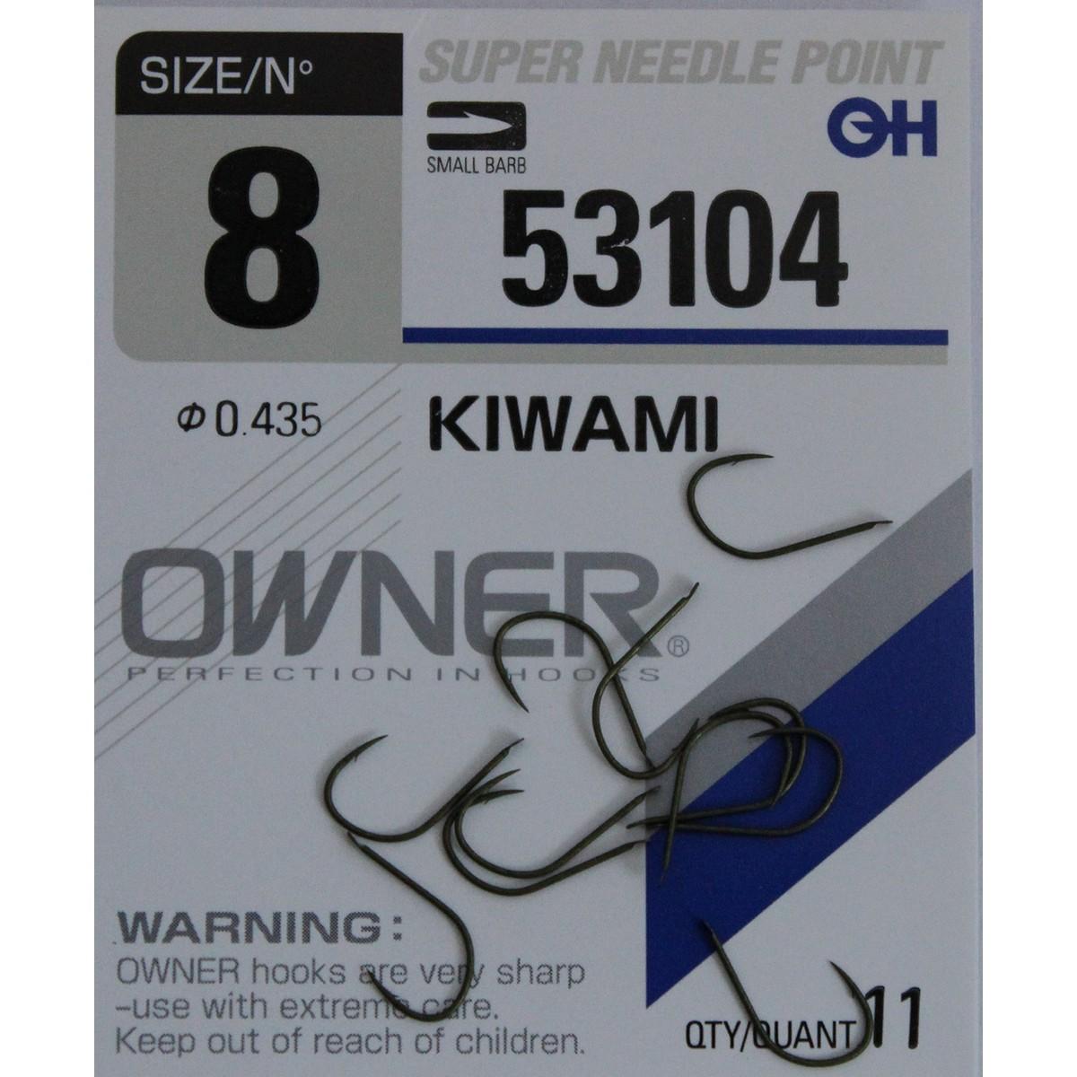 Риболовна кука Owner Kiwami 53104