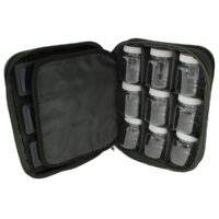 Carp Pro Tackle Bag 3 Boxes + 9 Bottles
