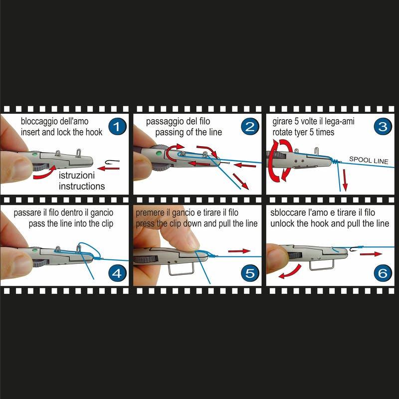 Инструмент за връзване на куки Stonfo Hook Tyer