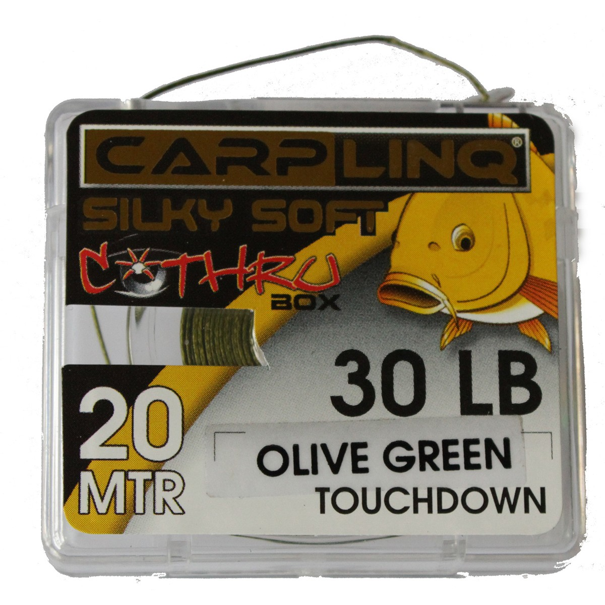 Carp Linq Silky Soft Olive Green Touchdown