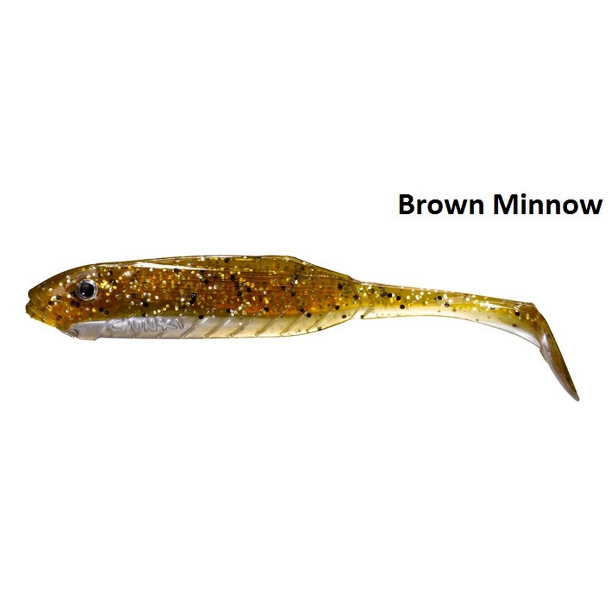 Gunki Sweep Gun 11см-brown minnow