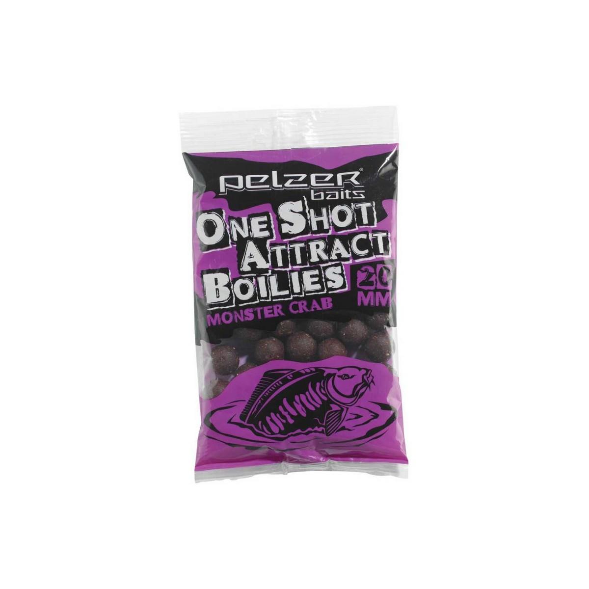 Pelzer One Shot Attract Boilies - протеинови топчета, рак 1