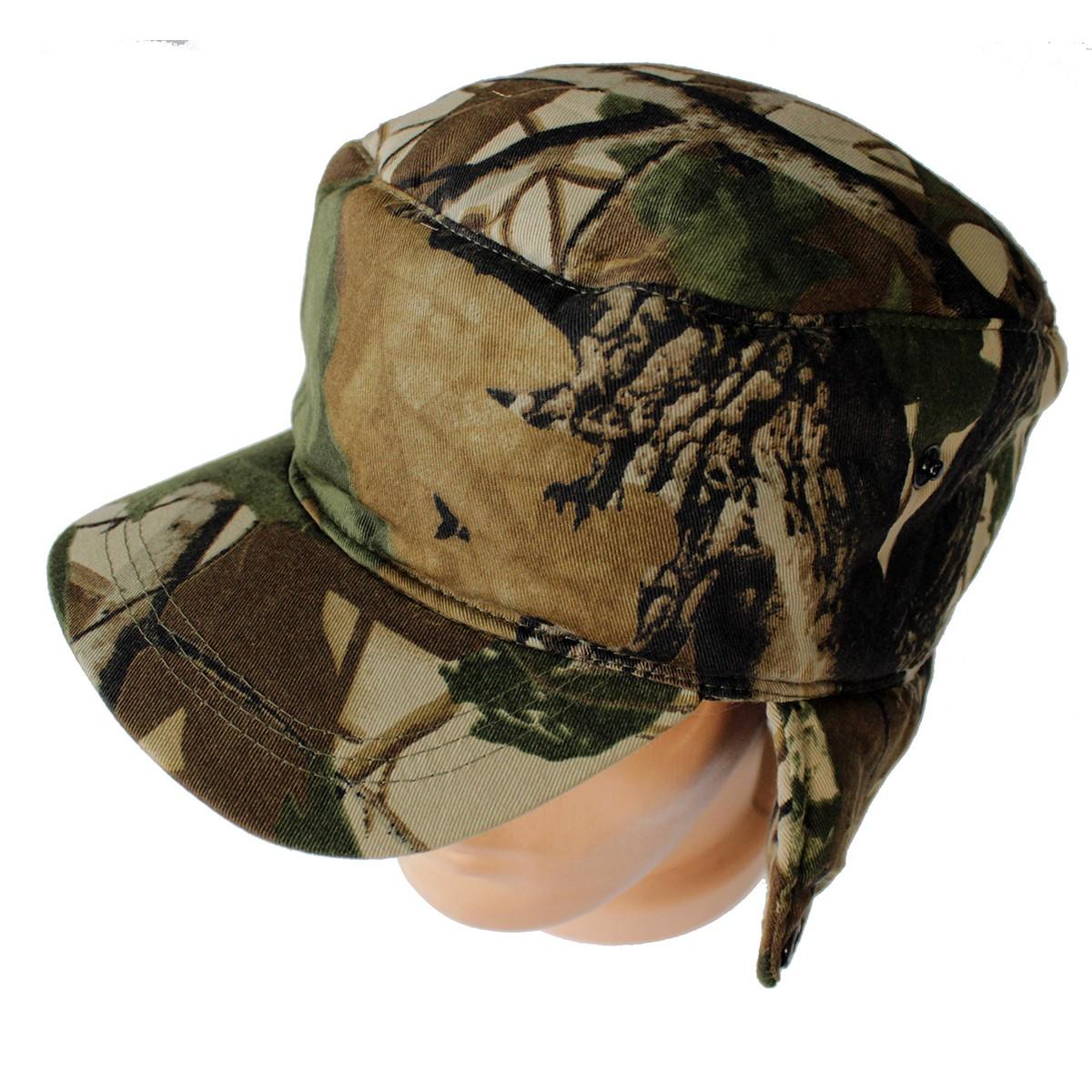 Зимна шапка с козирка