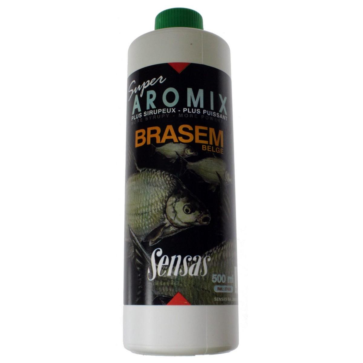 Течен ароматизатор Sensas Super Aromix Brasem Belge