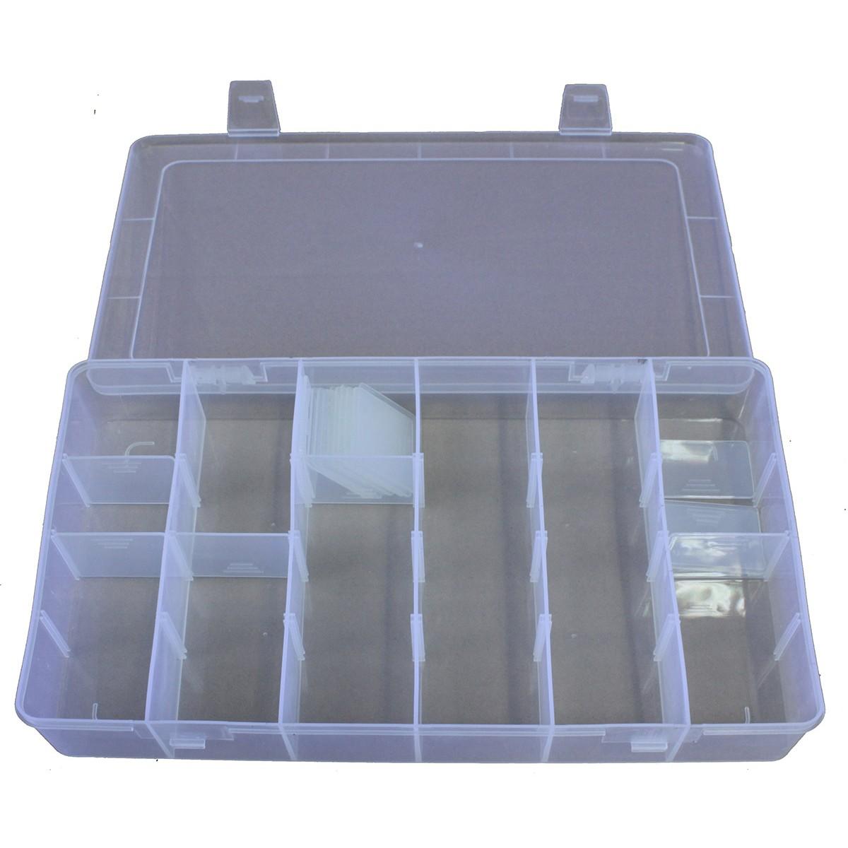 Кутия за принадлежности 6 отделения 2