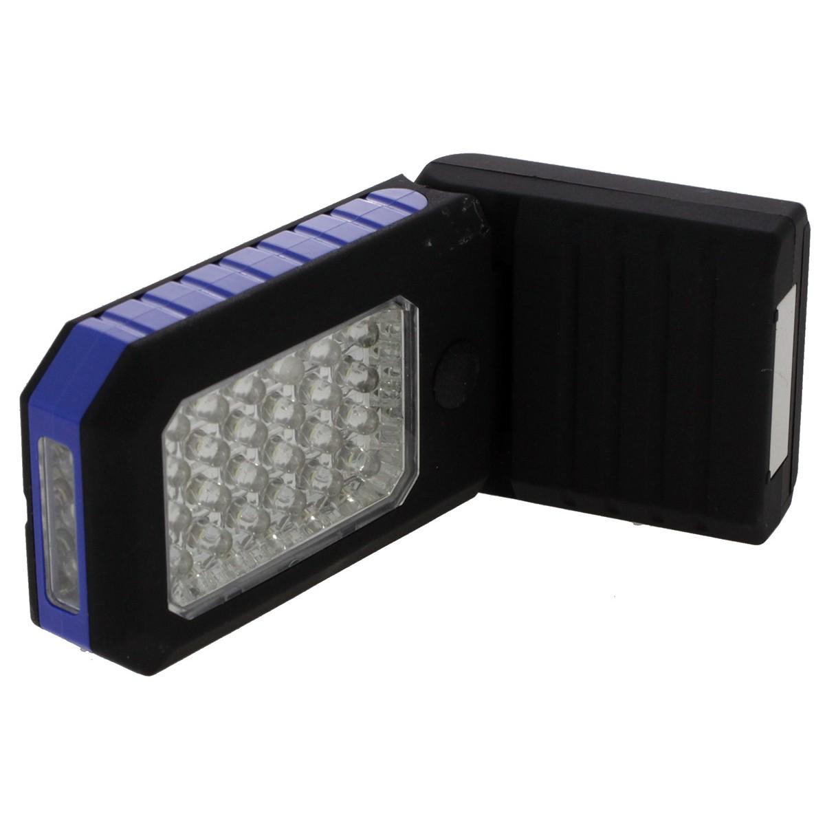 Фенер със светещ панел 27 LED диода