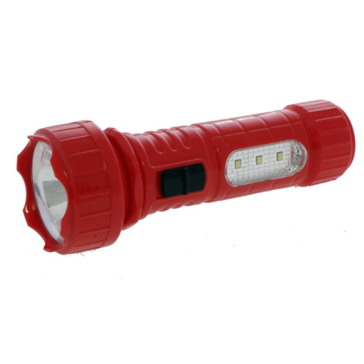 Фенерче 1+3 LED