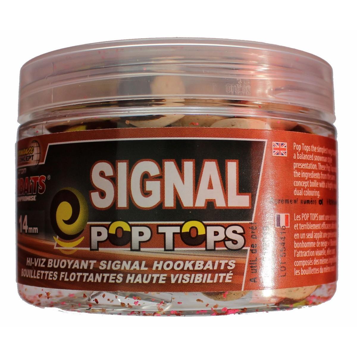StarBaits Signal Pop Tops 14mm - плуващи топчета
