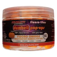 StarBaits Fluoro-Lites Dumbell 14mm - плуващи безароматни дъмбели