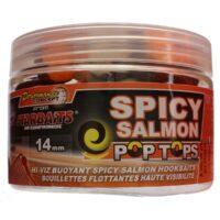 StarBaits Spicy Salmon Pop Tops 14mm - плуващи топчета