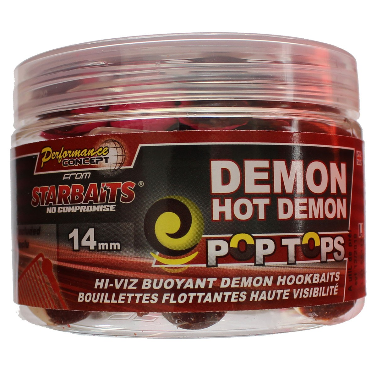 StarBaits Demon Hot Demon Pop Tops 14mm - плуващи топчета