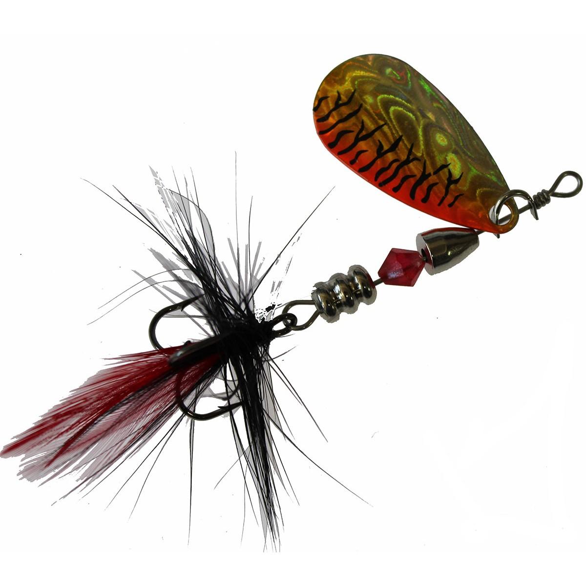 Jaxon Holo Reflex Red Tail HH0H -блесна за пъстърва-блесна за сом