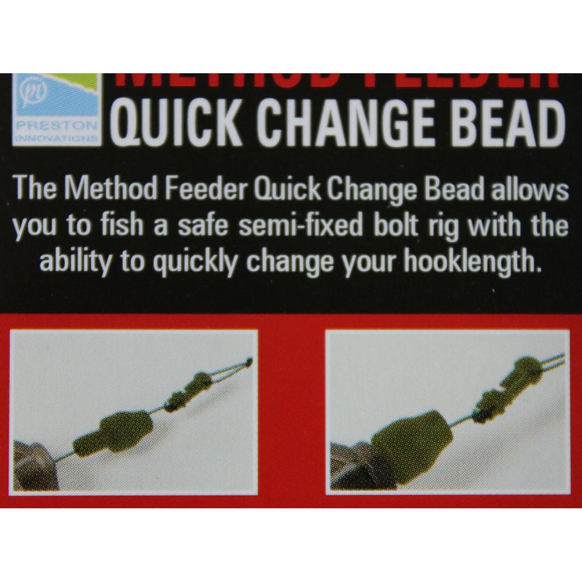 Бърза връзка Preston Method Feeder Quick Change Bead