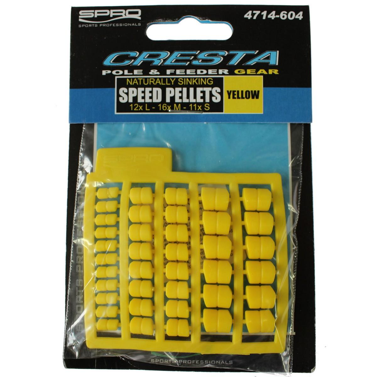 SPRO Cresta Speed Pellets - изкуствени пелети
