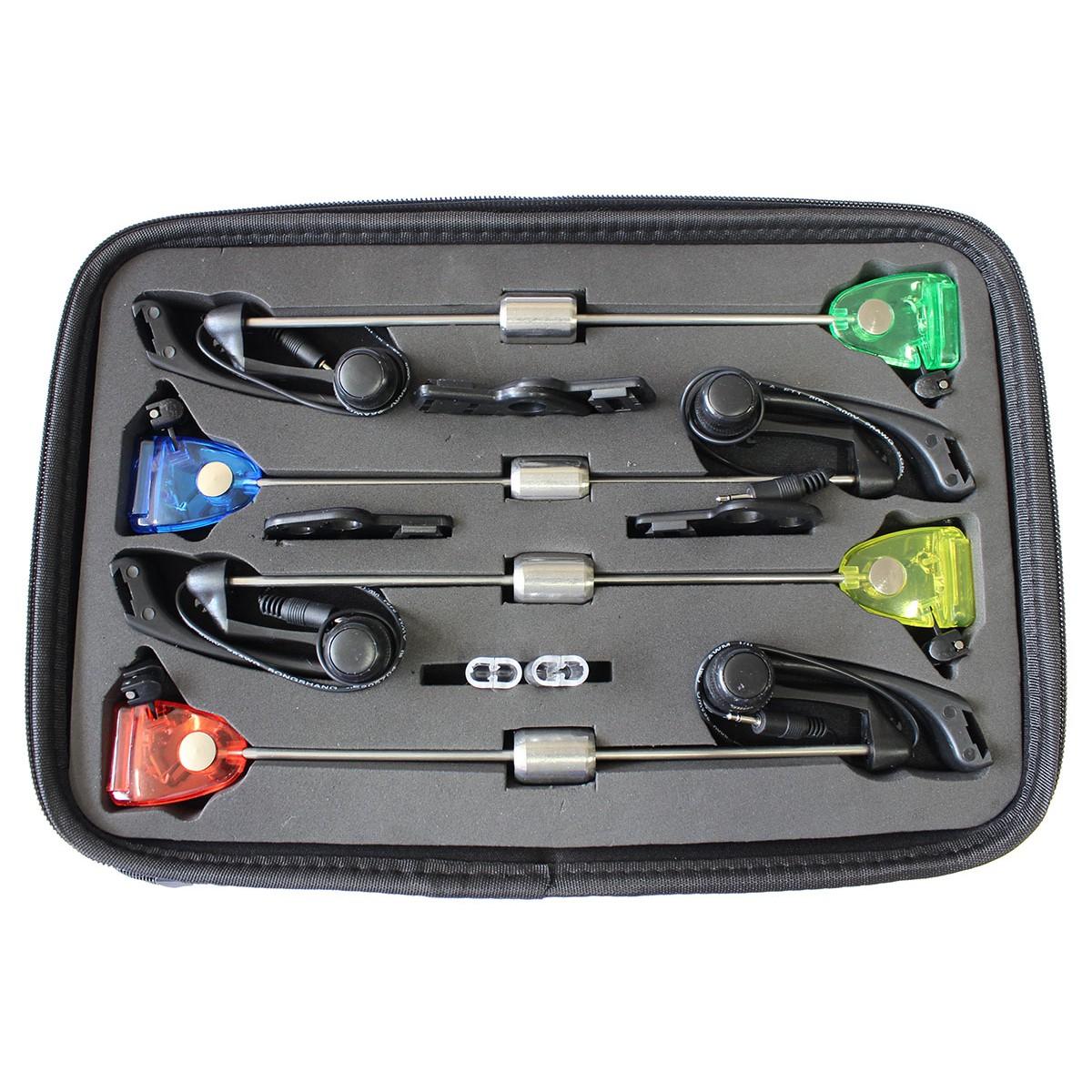 Комплект шарански обтегачи със светлинна индикация Carp Pro CP6357-400