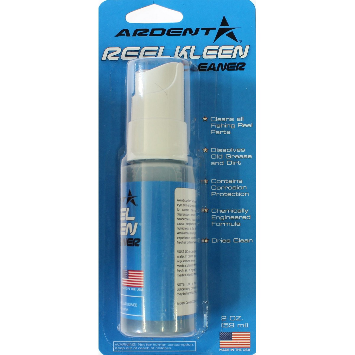 Ardent Reel Kleen Cleaner - смазка за почистване на макари