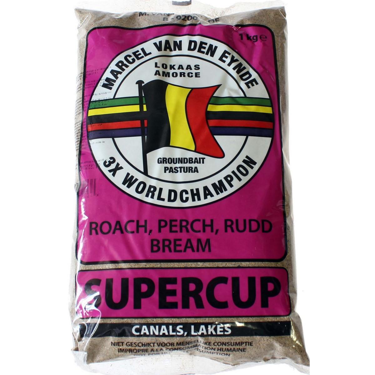 Захранка за риболов Supercup 1kg - Van Den Eynde