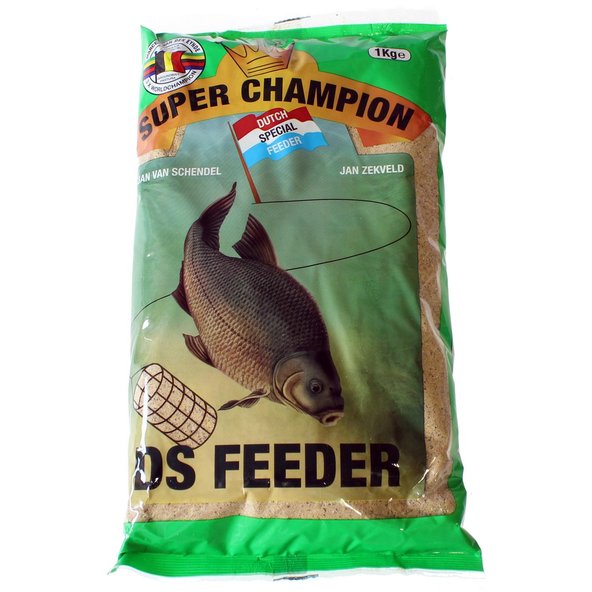 Захранка за риболов Super Champion DS Feeder 1kg - Van Den Eynde