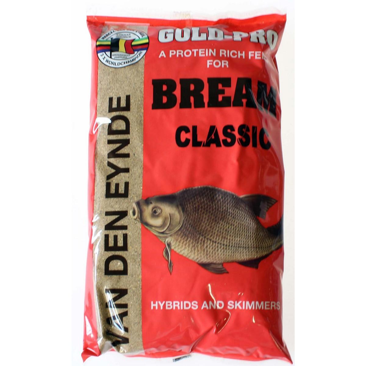 Захранка за риболов Gold-Pro Bream Classic 1kg - Van Den Eynde