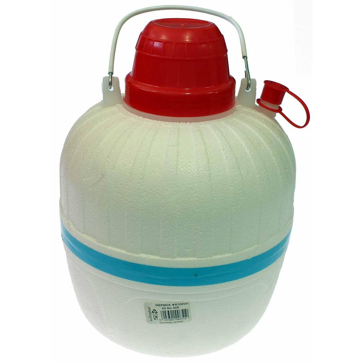 Термос за вода - стиропор 5 л