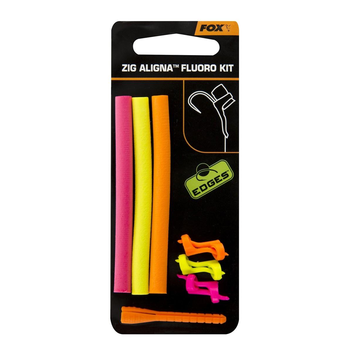 Комплект за Зиг Риг FOX EDGES Zig Aligna Fluoro Kit