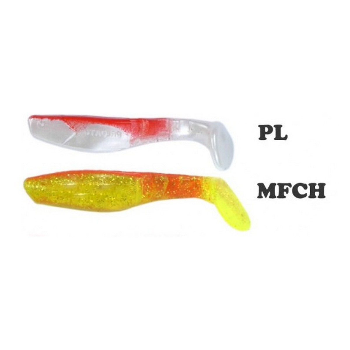 Mann`s Predator Red Back 5.5cm - Силиконови рибки