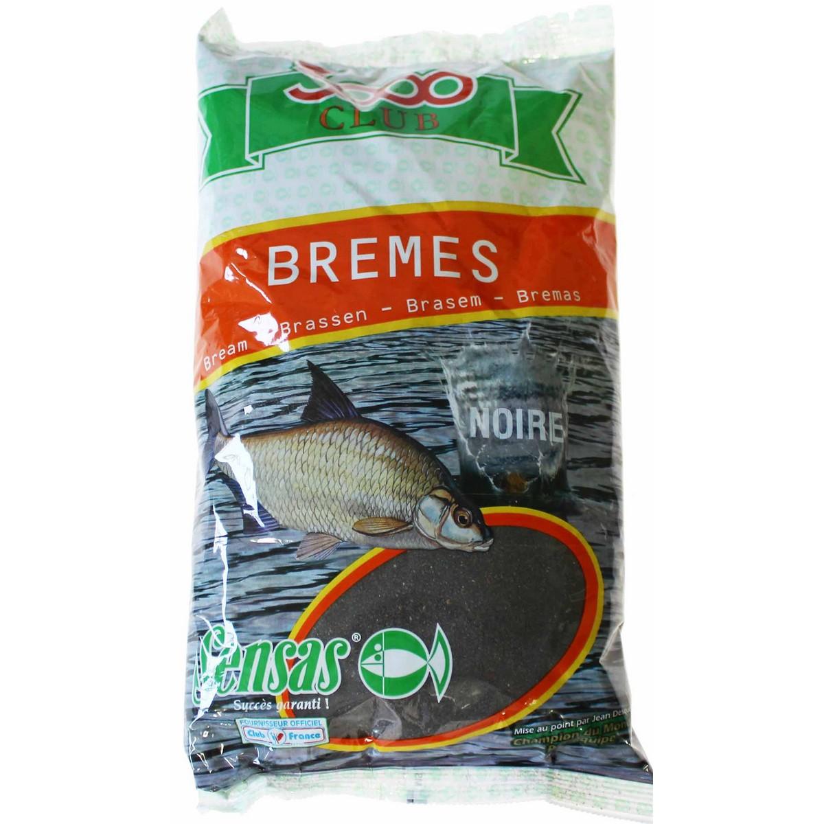 Захранка за риболов Sensas 3000 Club Bremes(Bream) Noir
