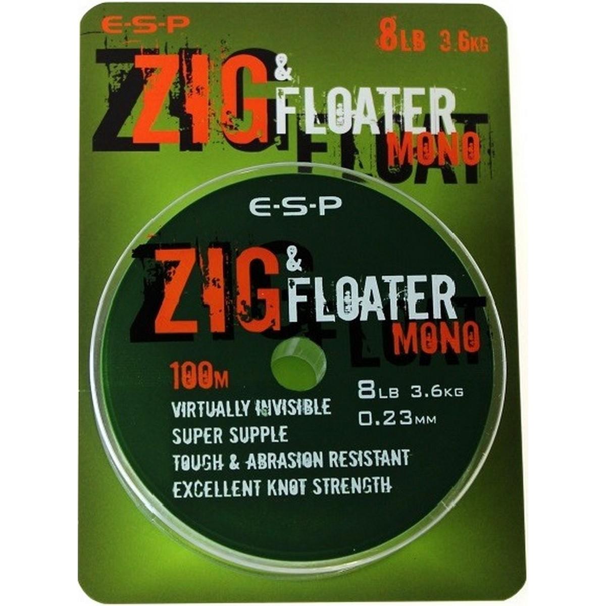 Риболовно влакно ESP Zig Floater Mono 100m