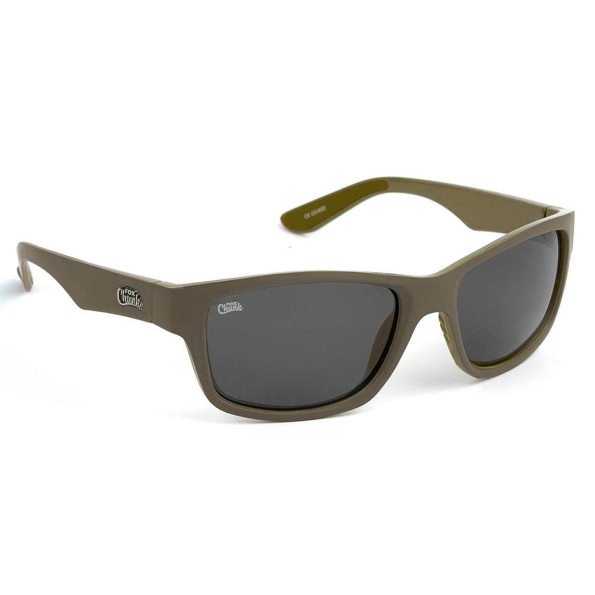 Очила Fox Chunk Khaki Frame/Grey Lens Sunglasses