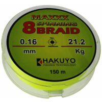Hakuyo Maxxx Spinning 8 Braid 150m-плетеняк