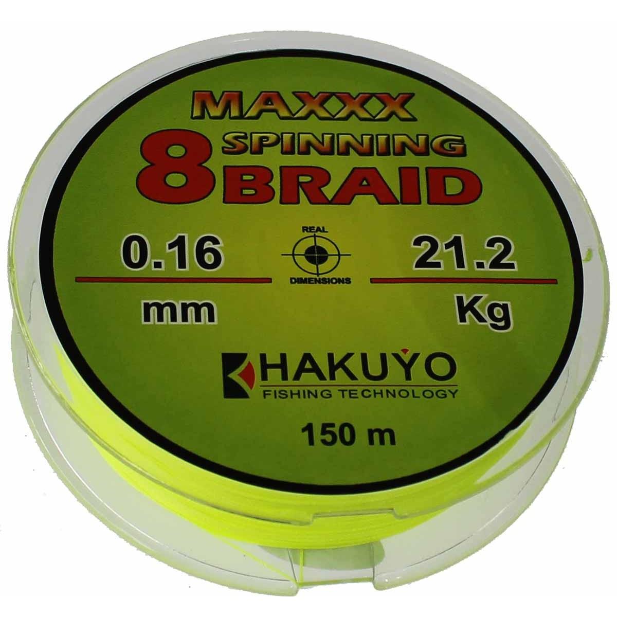 Hakuyo Maxxx Spinning 8 Braid 150m-плетеняк