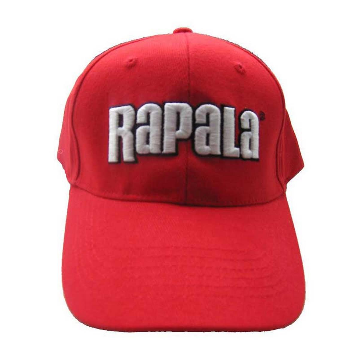 Шапка Rapala Red с 3D лого
