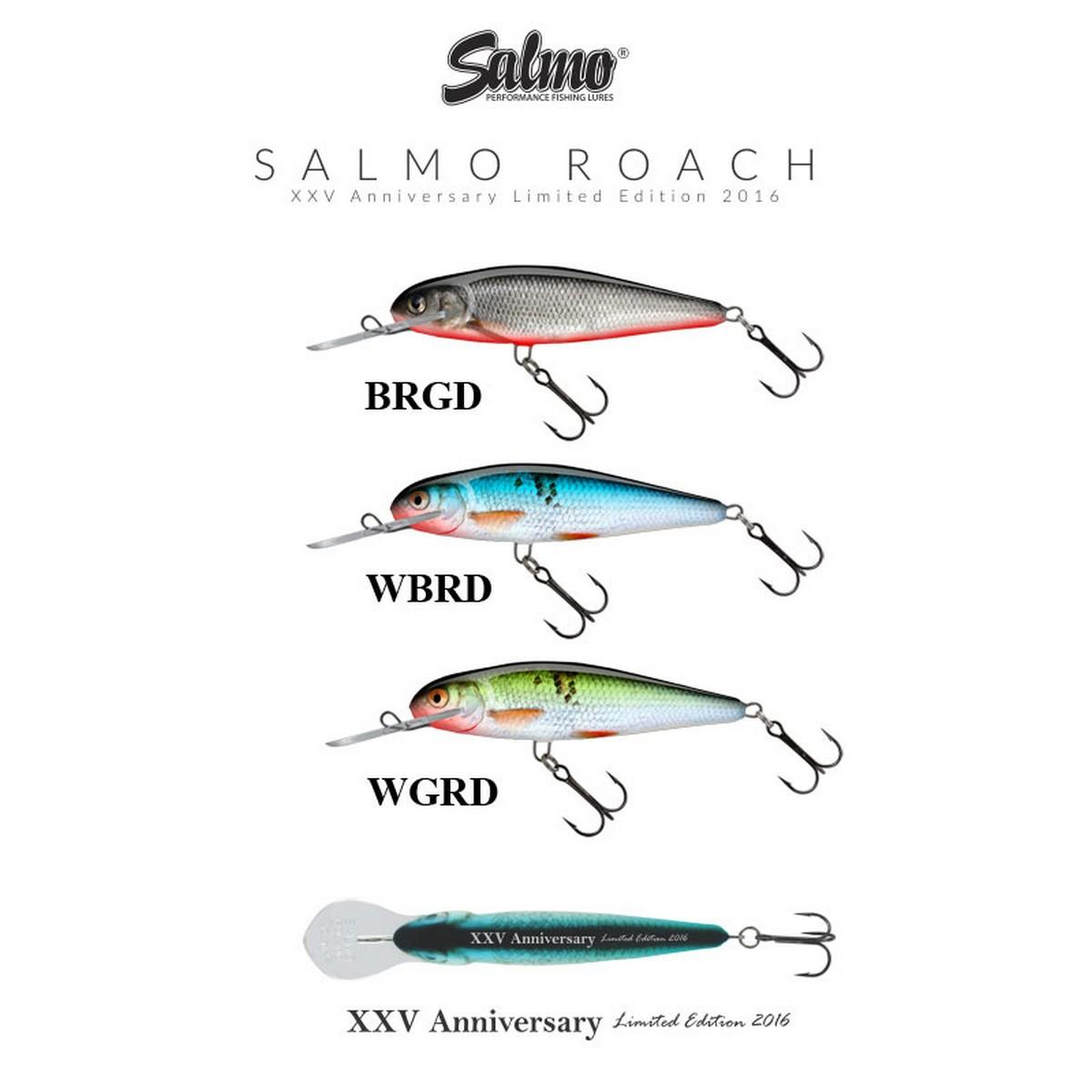 Воблер Salmo Roach Deep Runner 9cm