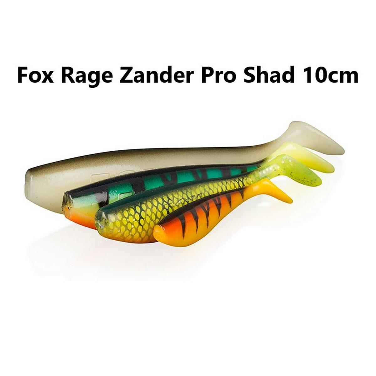 Силиконова примамка Fox Rage Zander Pro Shad 10cm