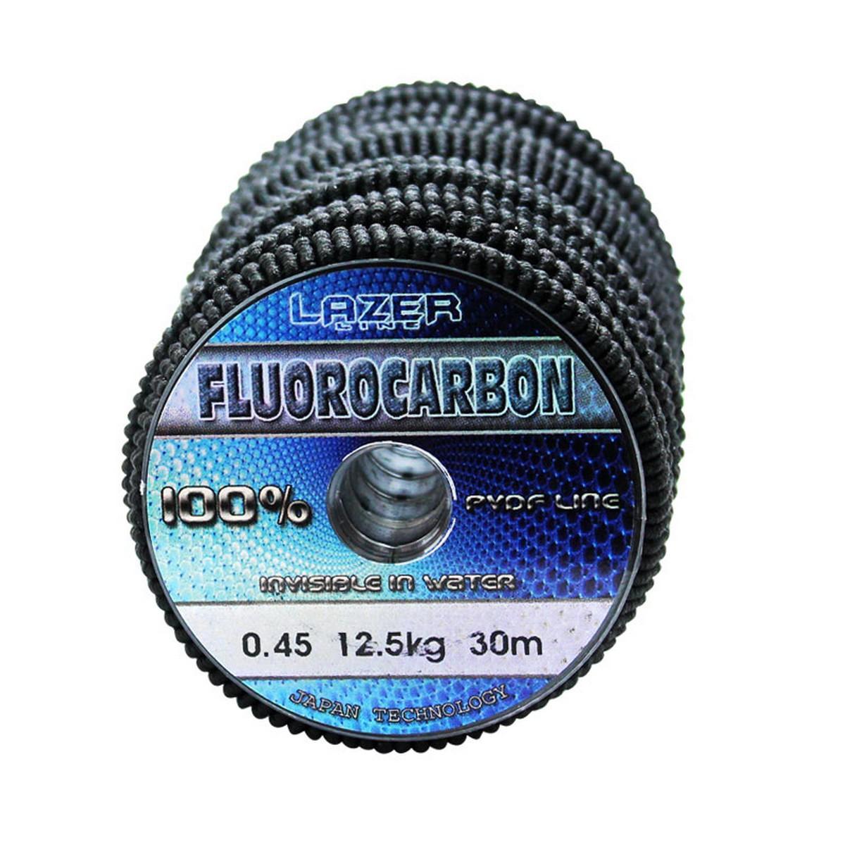 Флуорокарбон Lazer Fluorocarbon PVDF Line 30m