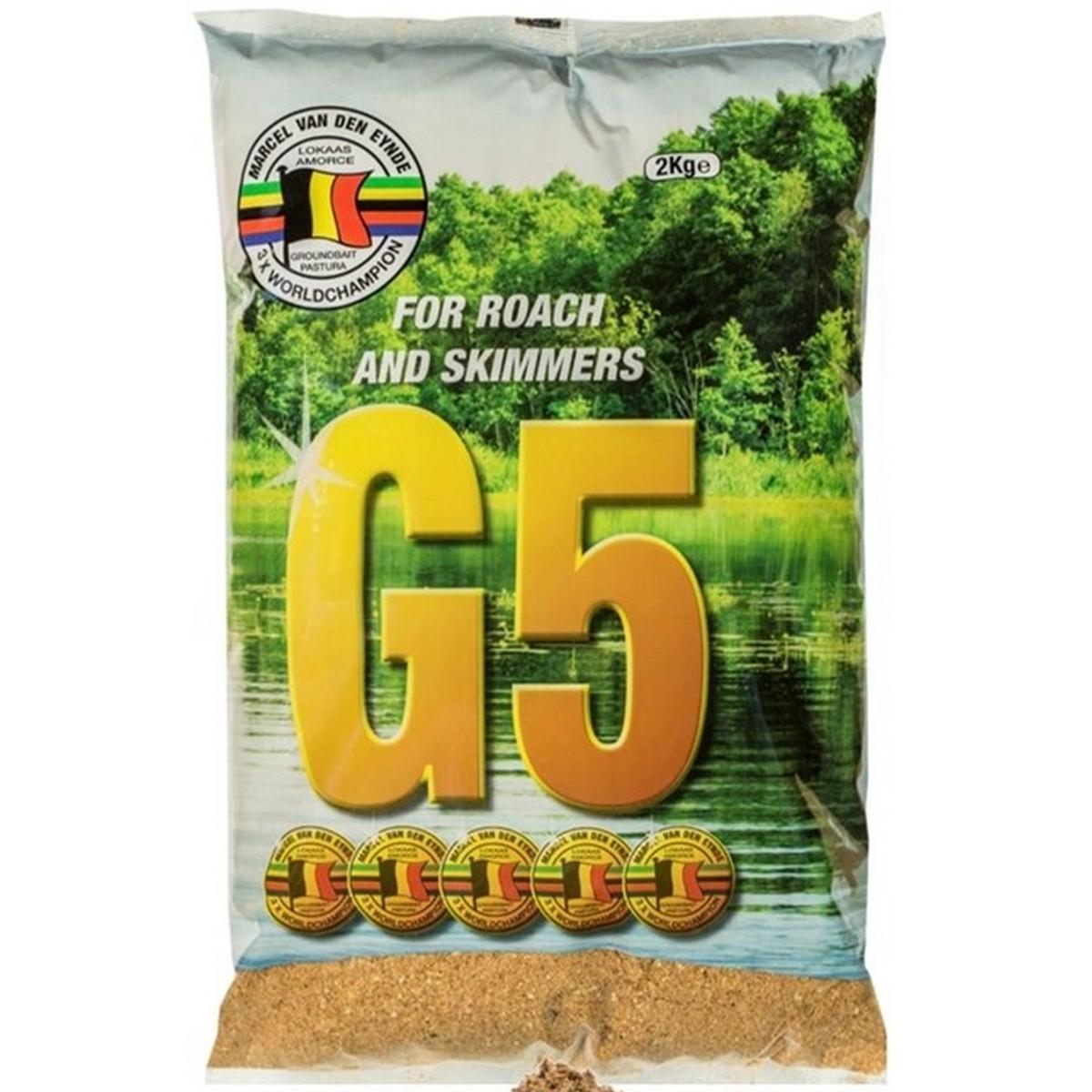 Захранка за риболов G5 Scotthorn 2kg - Van Den Eynde