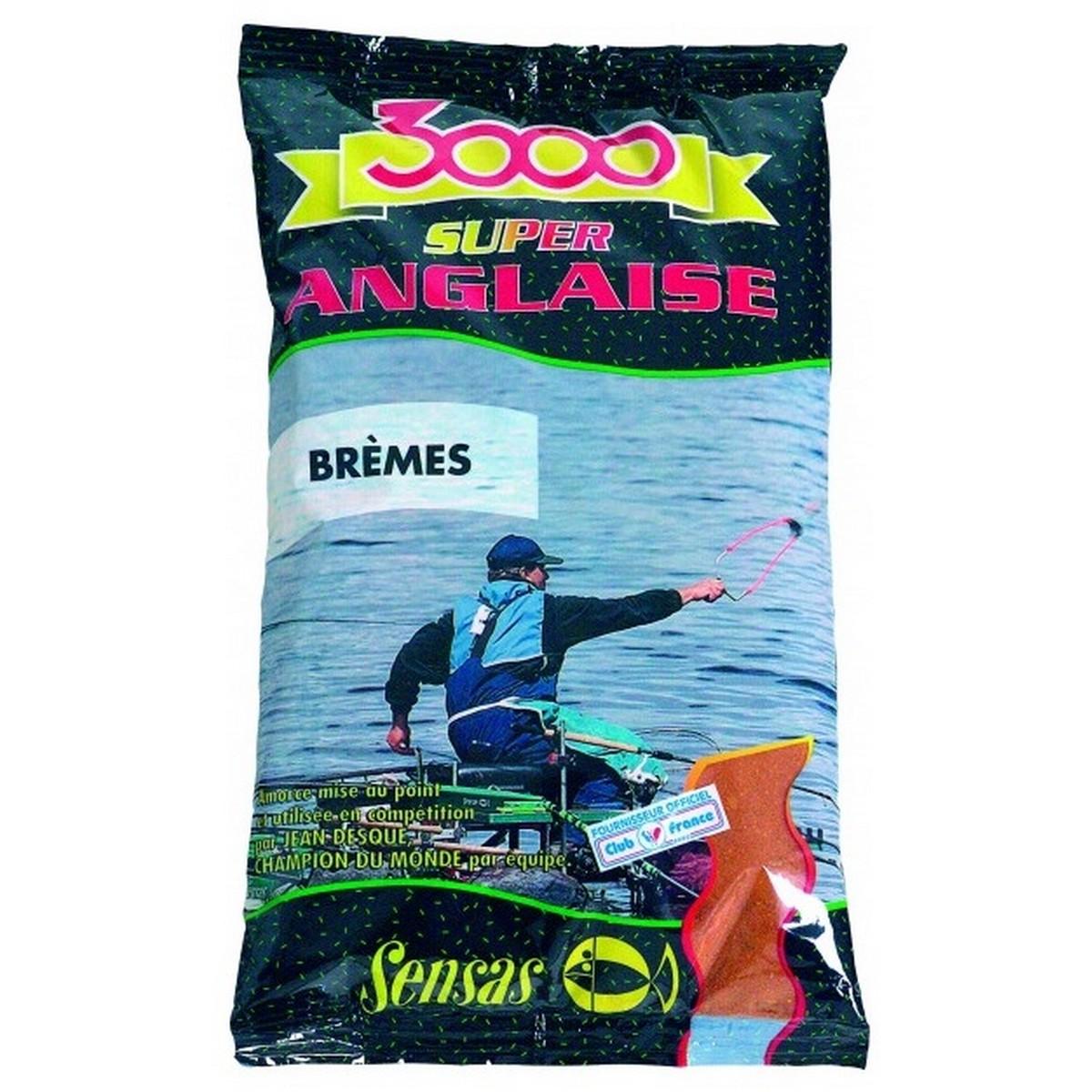 Захранка за риболов Sensas 3000 Super Anglaise Bremes