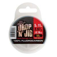 Риболовно влакно Fox Rage Drop 'N' Jig Fluorocarbon 50m