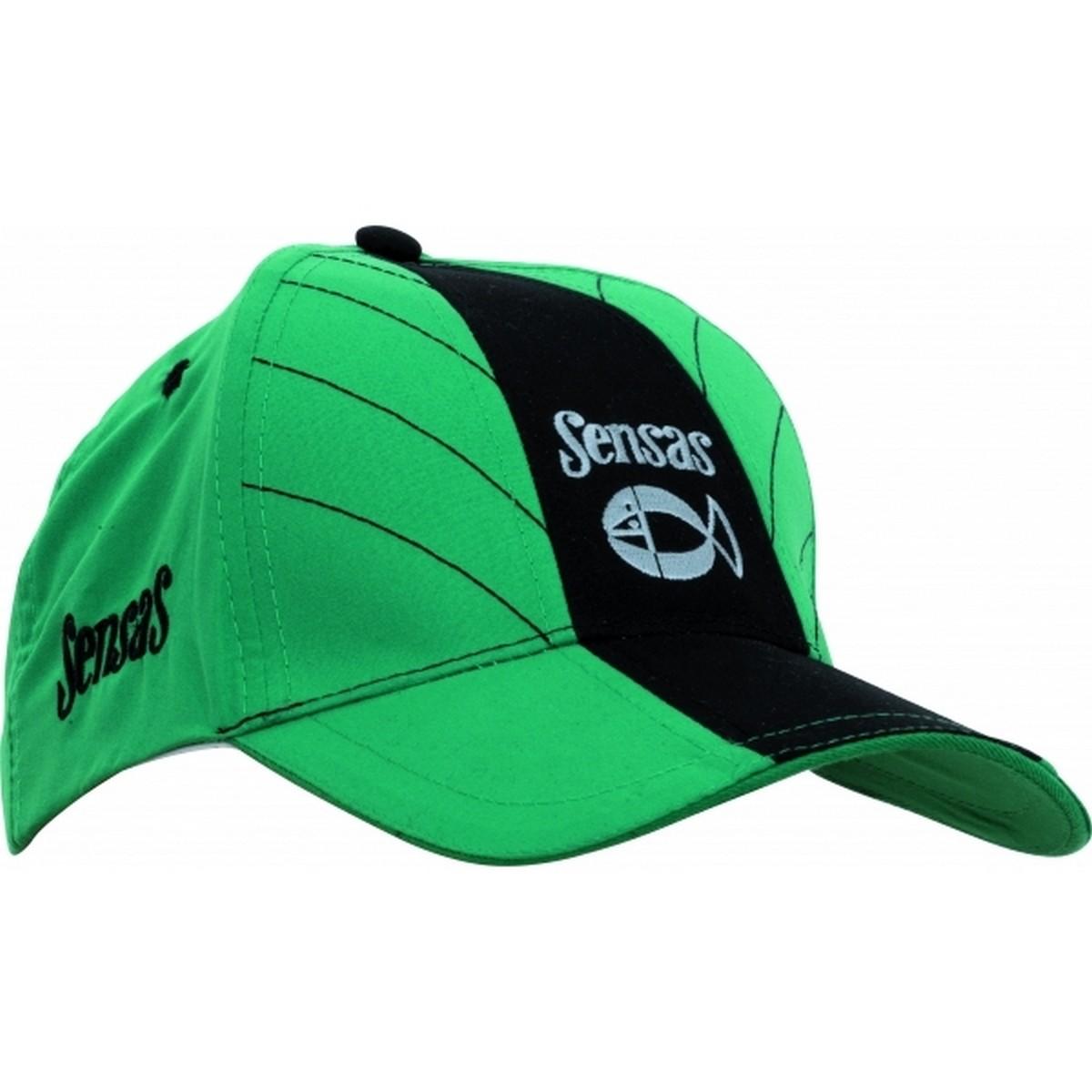 Шапка с козирка Sensas Microfibre Green/Black